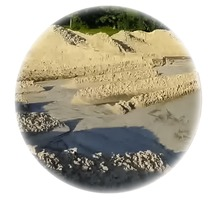 Песок на кладку с доставкой также отсев, щебень, ГПС - Сыпучие материалы в Краснодарском Крае