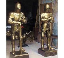 Рыцари из металла.Скульптурная композиция. - Рукоделие в Белореченске