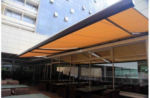Защита от солнца. Маркизы, Перголы, фото — «Реклама Сочи»