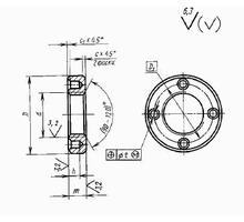 Гайка круглая с отверстиями на торце «под ключ» ГОСТ 6393-73 - Прочие строительные материалы в Краснодарском Крае