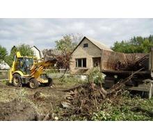 Расчистка участка. Планировка участка. Спил деревьев - Клининговые услуги в Краснодарском Крае