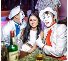 Веселые мимы на встречу гостей - Свадьбы, торжества в Краснодарском Крае