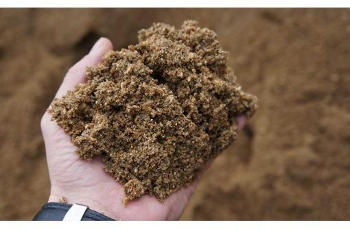Песок карьерный 0-5 в Краснодаре с доставкой - Сыпучие материалы в Краснодаре