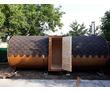Баня-бочка, квадро-баня от производителя, фото — «Реклама Сочи»