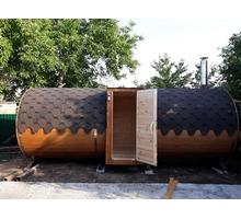 Баня-бочка, квадро-баня от производителя - Бани, бассейны и сауны в Краснодарском Крае