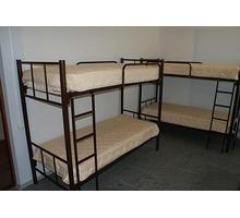 Изготавливаем кровати двухъярусные, односпальные на металлокаркасе для хостелов, гостиниц баз отдыха - Мебель для спальни в Краснодарском Крае