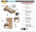 Комплект мебели для гостиницы ЛДСП Эконом - Специальная мебель в Сочи