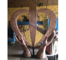 """Скульптура""""Руки,дающие жизнь"""" - Дизайн интерьеров в Краснодаре"""