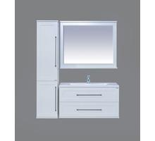 Мебель для ванной Марта 100 подвесная, белая Производитель: Misty - Мебель для ванной в Сочи