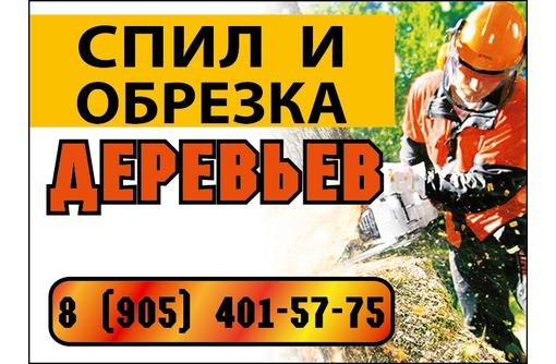 Спил и обрезка деревьев - Охрана, безопасность в Армавире