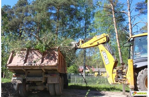 Спил деревьев. Расчистка участка. Снос старого дома - Сельхоз услуги в Анапе