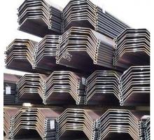Сварной шпунт корытный, шпунт Ларсена - Металлические конструкции в Краснодаре