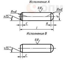 Штифт ГОСТ 24296-93 установочный - Металлы, металлопрокат в Краснодарском Крае