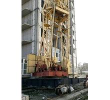 Кб-403 башенный кран 1992 г.в - Инструменты, стройтехника в Апшеронске