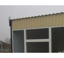 Торговый павильон, утепленный - Металлоконструкции в Апшеронске
