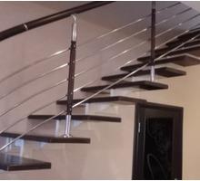 Лестница под ключ монолитная, из нержавеющего металла - Лестницы в Апшеронске