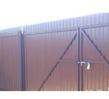 Забор из профнастила. Монтаж - Заборы, ворота в Апшеронске
