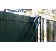 Забор из профнастила под ключ - Заборы, ворота в Апшеронске