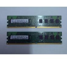 DDR2 1GB+1GB+512MB оперативная память - Комплектующие и запчасти в Краснодаре