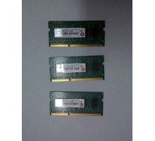 SODIMM DDR3 1GB 1333 Transcend оперативная память - Комплектующие и запчасти в Краснодаре