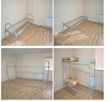 Кровати металлические для строителей оптом и в розницу с доставкой - Мебель для спальни в Усть-Лабинске