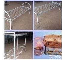 Кровати металлические для рабочих, общежитий, для комплектации бытовок - Мебель для спальни в Тихорецке