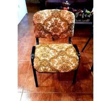 Стулья с жаккардовой красивой обивкой 3 шт - Столы / стулья в Краснодаре
