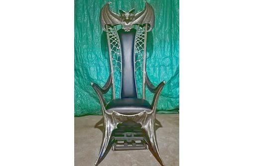 """Кресло-трон из металла""""Летучая мышь"""" - Мебель на заказ в Белореченске"""