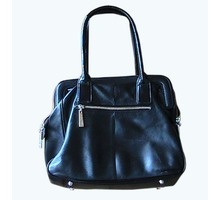 сумка женская на руку кожаная чёрная из Италии - Сумки в Краснодаре