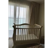 Детская кроватка-качалка. - Детская мебель в Сочи