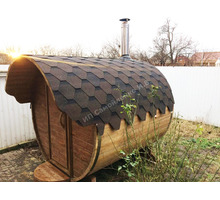 Баня-бочка 2 метра от производителя - Бани, бассейны и сауны в Краснодарском Крае