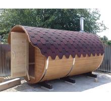 Баня бочка 3,5 метра от производителя - Бани, бассейны и сауны в Краснодарском Крае