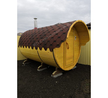Баня-бочка 3 метра от производителя - Бани, бассейны и сауны в Краснодарском Крае