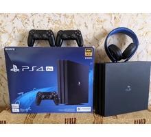 Продам  Xbox One - Sony PS4 Pro, еще на гарантии - Игры, игровые приставки в Краснодарском Крае