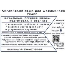 Репетитор по английскому языку для школьников по Скайп. - Репетиторство в Краснодаре
