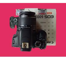 зеркальный цифровой  фотоаппарат Canon 600d бу в отличном состоянии - Прочая электроника и техника в Краснодаре