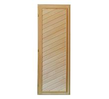 Дверь для бани глухая из липы 1,90х0,70 - Двери входные в Апшеронске