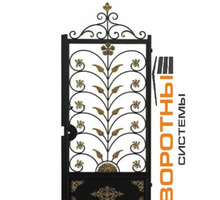 Кованные распашные ворота и калитка арт. - Заборы, ворота в Белореченске