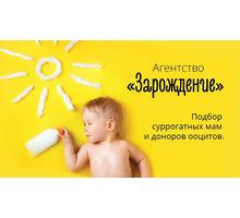 """Агентство """"Зарождение"""" Ищем доноров яйцеклетки - Медицинские услуги в Краснодаре"""