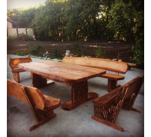 мебель из массива ручной работы - Мебель на заказ в Краснодарском Крае