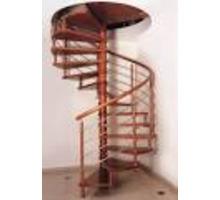 Лестница деревянная винтовая - Лестницы в Белореченске