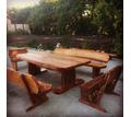 мебель из массива ручной работы - Столы / стулья в Краснодарском Крае