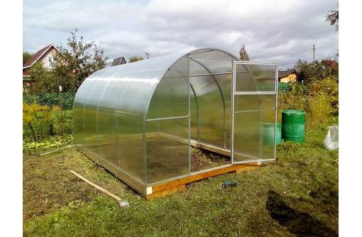 Заводская теплица из поликарбоната - Садовый инструмент, оборудование в Армавире