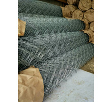 Сетка Рабица оцинкованная в рулонах - Металлические конструкции в Туапсе