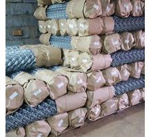 Сетка Рабица оцинкованная в рулонах оптом и в розницу с доставкой - Металлоконструкции в Усть-Лабинске