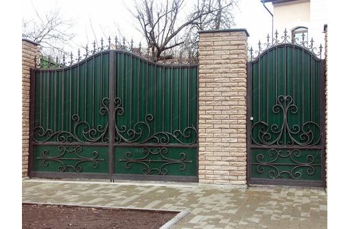 Изготовление кованных и сварочных изделий - Заборы, ворота в Адлере