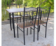 "Стол и 4 стула для дома или кафе ""Монада"", фото — «Реклама Сочи»"