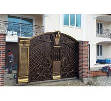 Изготовление кованных заборов, ворот, калиток - Заборы, ворота в Геленджике