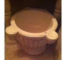 Курна из мрамора на подставке для хамама в наличии - Бани, бассейны и сауны в Сочи