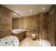 Камень травертин коричневый 12*305*610 для стен ванной комнаты в наличии - Кирпичи, камни, блоки в Сочи